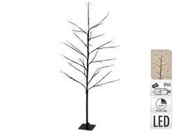 Дерево декоративное 120cm 240micro LED, таймер, тепл.-бел