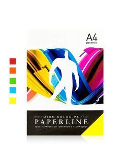 Hirtie colorata A4 Paperline RAINBOW 80 gr. intensiv 5 cul. x 100 file