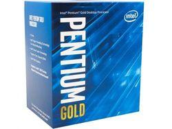 Процессор Intel Pentium G5500 3,8 ГГц (2 ядра / 4 потока, 4 МБ, S1151, 14-нм, интегрированная графика Intel UHD Graphics 630, 54 Вт)