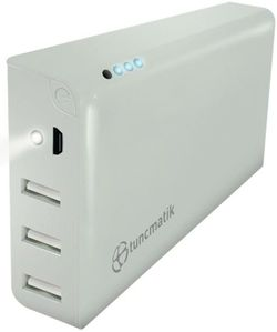 Power Bank Tuncmatik Mini Charge 20000mAh Lightning White