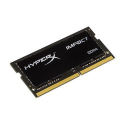 4GB DDR3 1600MHz SODIMM 204pin Kingston HyperX IMPACT (HX316LS9IB/4), CL9-9-9, 1.35V, Black