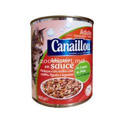 Canaillou с мясом кролика, печенью и овощами 800 gr