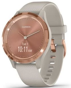 купить Фитнес-трекер Garmin vivomove 3S, S/E EU, Rose Gold, Light Sand, Silicone в Кишинёве