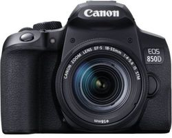 cumpără Aparat foto DSLR Canon EOS 850D 18-55 IS STM (3925C016) în Chișinău