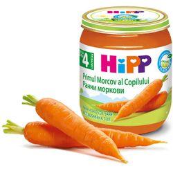Piure de morcov Hipp (4+ luni), 125g