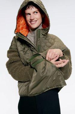 Куртка ZARA Хаки zara 8073/240/505