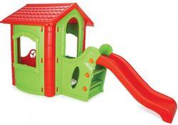 Căsuța de joaca Pilsan Happy House cu Tobogan (06-432)
