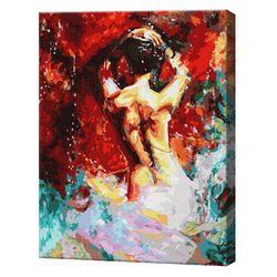 În vârtejul pasiunii, 40х50 cm, pictură pe numere Articol: GX36231