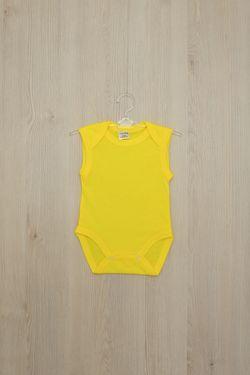 Боди B05, желтый