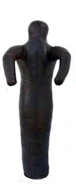 Манекен кожаный боевой 45 кг, 160 см, одна нога (3388)