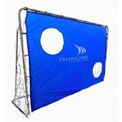 Футбольные ворота с экраном 215x150 см Yakimasport 100070