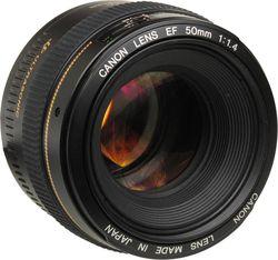 купить Объектив Canon EF 50 mm f/1.4 USM (2515A012) в Кишинёве