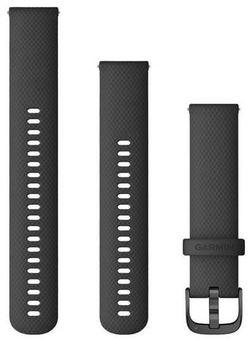 купить Аксессуар для моб. устройства Garmin Quick Release Bands (20 mm) Black with Slate Hardware в Кишинёве