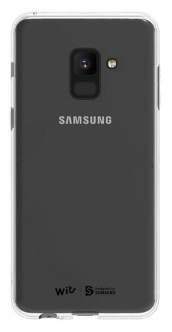 купить Чехол для смартфона Samsung GP-A530, Galaxy A8 2018, Soft Cover, Clear в Кишинёве