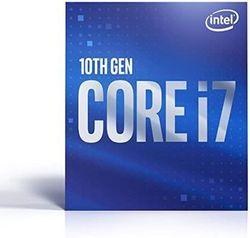 Процессор Intel Core i7-10700F 2,9–4,8 ГГц (8C / 16T, 16 МБ, S1200, 14-нм, без встроенной графики, 65 Вт) Лоток