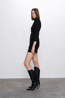 Платье ZARA Чёрный 2190/308/800