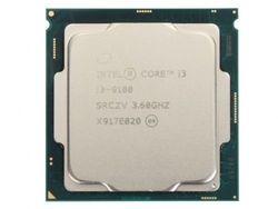 Процессор Intel Core i3-9100 3,6–4,2 ГГц (4 ядра / 4 потока, 6 МБ, S1151,14 нм, встроенная графика UHD Graphics 630, 65 Вт) Лоток