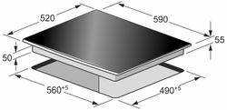 Индукционная панель Kaiser KCT 67 FIW La Perle