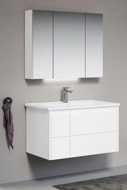 Dulap cu oglindă Orka New Likya 80 White (00721)
