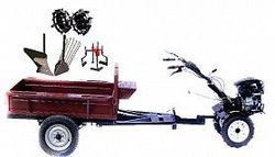Set motocultivator TECHNOWORKER HB 700RS PRO+Remorca RK500 + plug simplu+ plug cartofi + roti metalice 4*8 + prasitoare