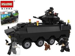 cumpără Jucărie Promstore 43922 HSANHE Танк спецназ 40X29.5X6cm, 418дет. în Chișinău