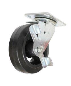 Roată rotativă cu frînă – Ø125,180kg