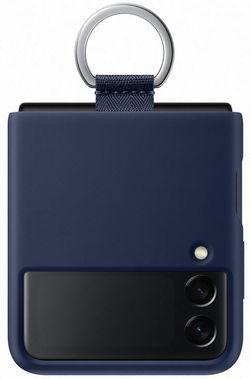 cumpără Husă pentru smartphone Samsung EF-PF711 Silicone Cover with Ring B2 Navy în Chișinău