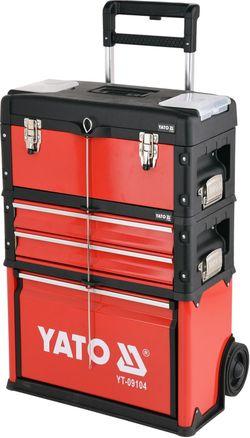 Шкаф для инструментов 3 отсека 78 шт. YATO