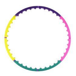 Cerc masaj / Hula hoop d=95 cm, 1 kg Silapro 194-001 (2613)