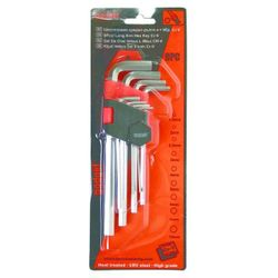 Set chei imbus lungi, 1.5-10 mm, 9 buc. Gadget
