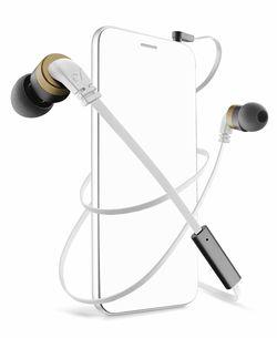 Наушники Cellularline Mosquito Stereo Earph Mic White