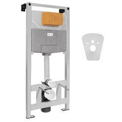 VOLLE MASTER NEO инсталляция для унитаза пневматическая 3в1 (инсталляция, крепления, прокладка)