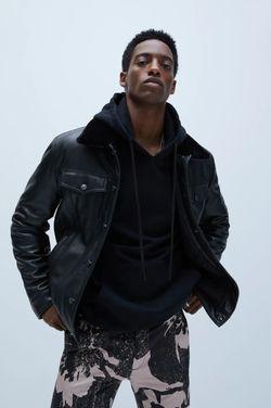 Куртка ZARA Чёрный 8281/406/800