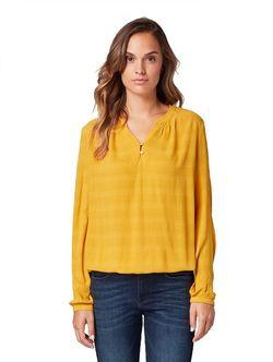 Блуза TOM TAILOR Желтый 1013985 tom tailor