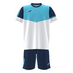 Футболка + шорты JOMA - T-SHIRT E CALÇÃO ARNIELLES BLUE