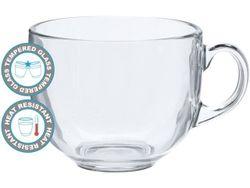 Чашка для завтрака 475ml, D10.6cm, стеклянная