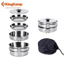 Vesela turistica KingCamp Backpacker 3 KP3914 silver (1021)