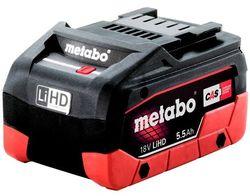 Acumulator pentru scule electrice Metabo 18V 5;5A LiHD (625368000)
