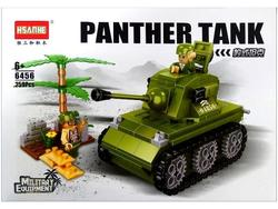 Конструктор HSANHE Танк Пантера, 37.5X25.5X6cm, 259дет.