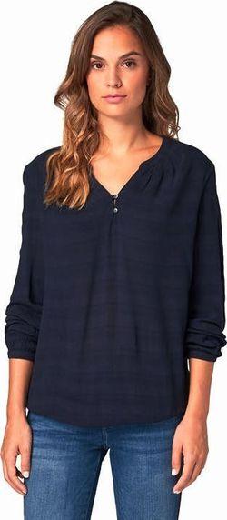 Блуза TOM TAILOR Темно синий 1013985 10668