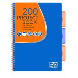 Блокнот с перегородками CoolPack синий с оранжевым A4
