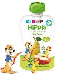 Пюре из яблок и груш Hippis (12+ мес.), 100 г