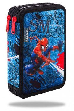 Пенал с 2 отделениями CoolPack с аксессуарами JUMPER XL - SpiderMan