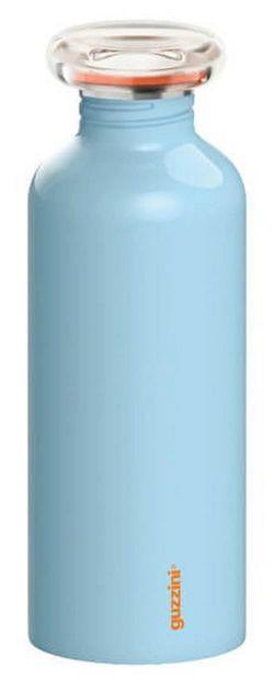 купить Бутылочка для воды GUZZINI 310280 из нерж стали 650 мл (голубая) в Кишинёве