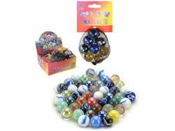 Набор шариков стеклянных 8шт, 16gr, цветные