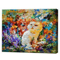 Красочный мир, 40х50 см, картина по номерам