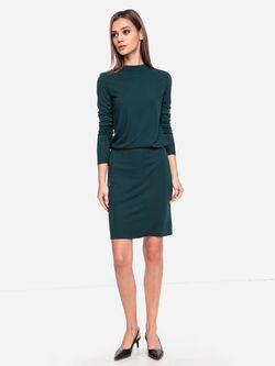 Rochie TOM TAILOR Verde inchis 1016709 tom tailor