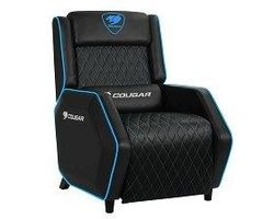 Gaming Sofa Cougar Ranger PS Black/Blue, User max load up to 160kg / height 145-190cm