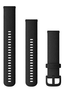 купить Аксессуар для моб. устройства Garmin Quick Release Bands (20 mm) Black Silicone в Кишинёве