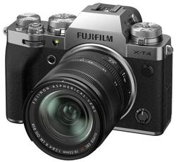 cumpără Aparat foto mirrorless FujiFilm X-T4 silver/XF18-55mm Kit în Chișinău